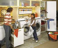 Various Laundry Room Organizers