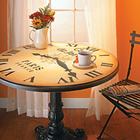 Clock Coffee Table (pdf on left)