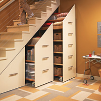 Under-Stair Organizer