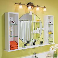 Bath Cabinet - Mirror