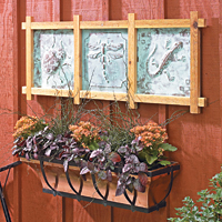 Cedar & Copper Trellis